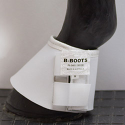 white lain bell boots